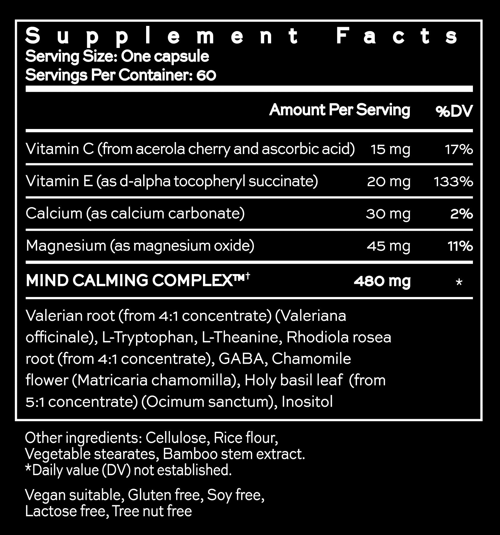 MindYourMind - Scientifically formulated sleep aid supplement - Hush & Hush